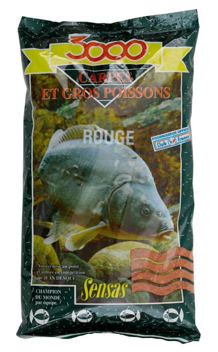 Sensas Krmení 3000 Carpes Rouge (kapr červený) 1kg