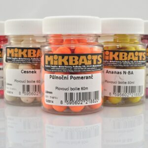 Fluo pop-up boilie Mikbaits 10mm 60ml