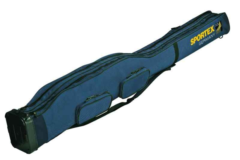 SPORTEX Pouzdro dvoukomorové pro 2 - 4 pruty