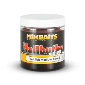 Mikbaits Halibut pelety v dipu 250ml