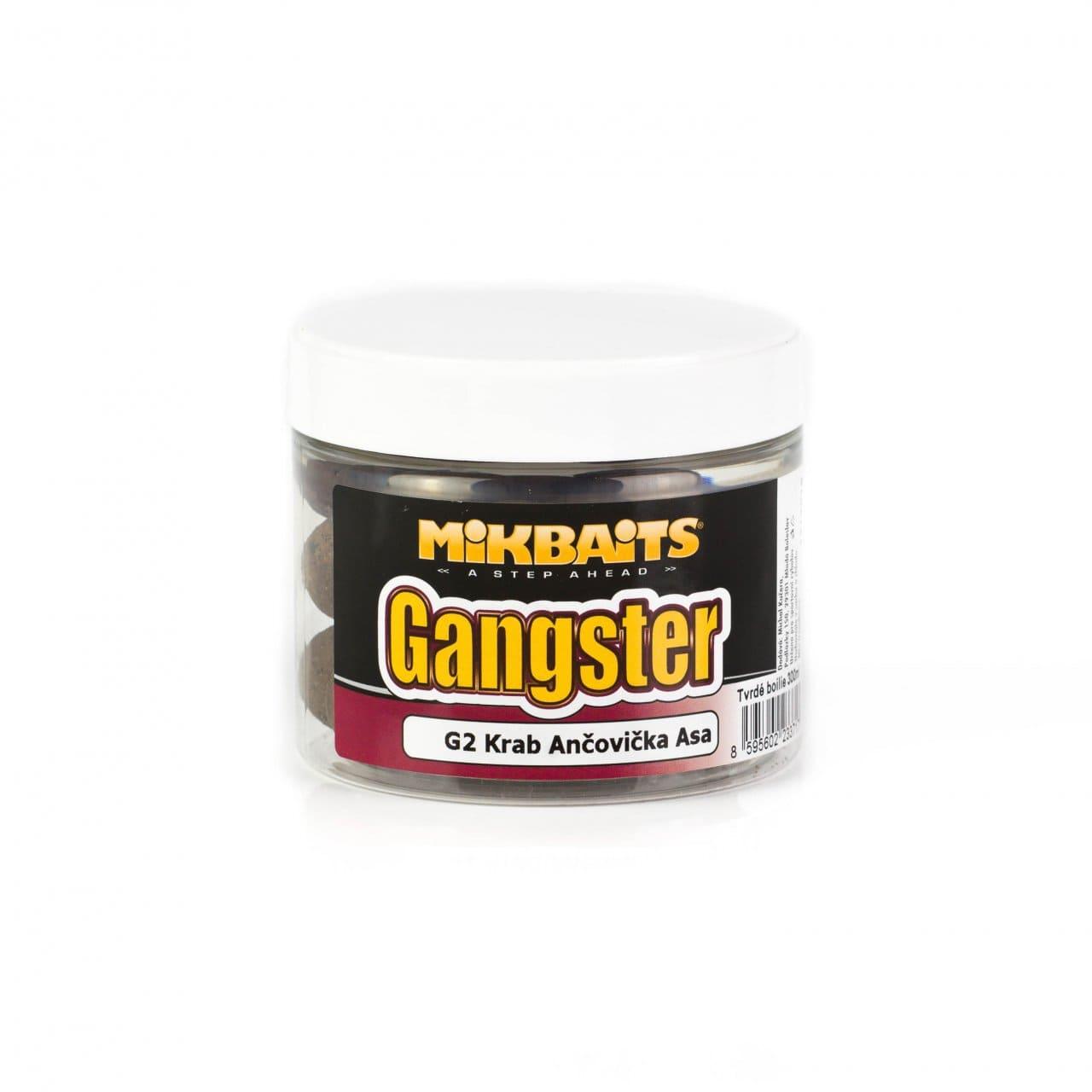 Gangster extra hard boilie 300ml - G2 Krab Ančovička Asa