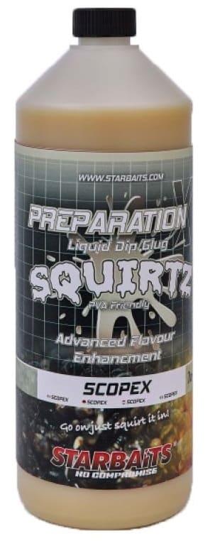 Starbaits Booster PREP X SQUIRTZ SCOPEX 1L