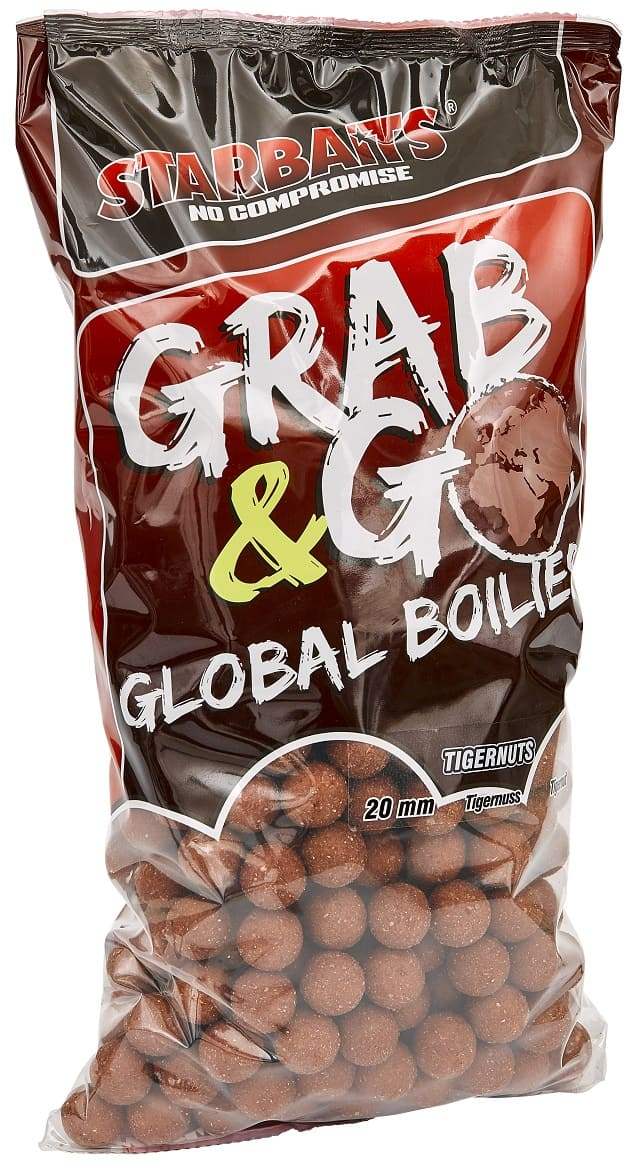 Global boilies TIGERNUT 20mm 10kg