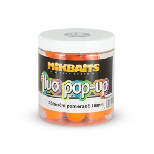 Mikbaits Plovoucí Boile Fluo 250ml 18mm
