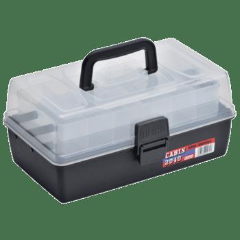Meiho Rybářský Box Cabin 2040 Černý