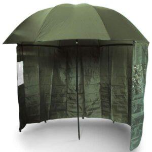 NGT Deštník s Bočnicí Brolly Side Green 2,2m