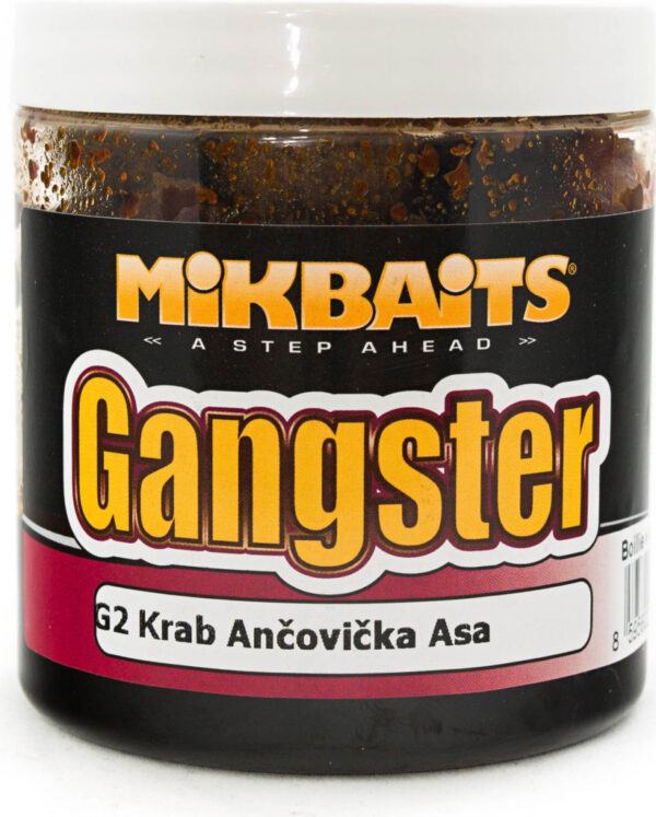 boilie Gangster v dipu 250 ml