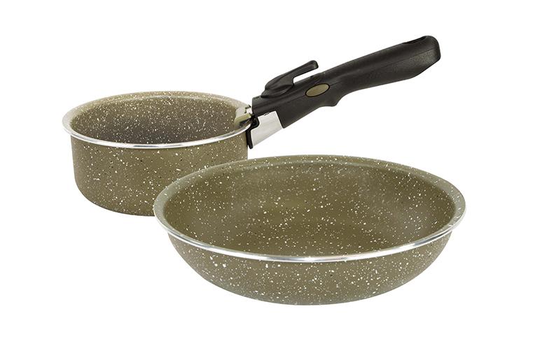 Trakker Products - Sada nádobí - Armolife Marble Cookset - Medium