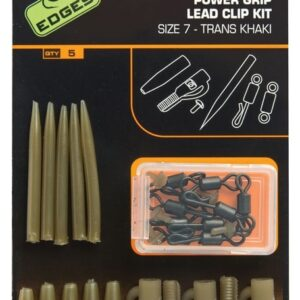 FOX INTERNATIONAL EDGES SUREFIT LEAD CLIP KIT X 5 PC