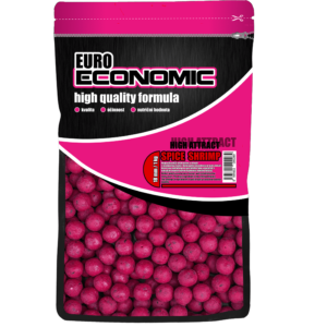 LK BAITS EURO ECONOMIC BOILIES SPICE SHRIMP 1KG, 18MM