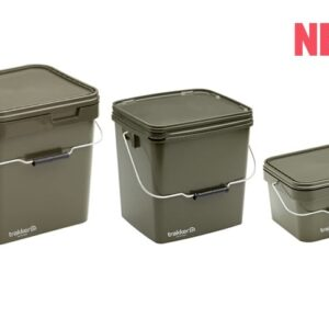 Trakker Products - Plastový box - 5 Ltr Olive Square Container