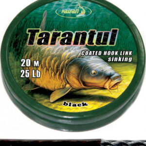 KATRAN ZTUŽENÁ NÁVAZCOVÁ ŠŇŮRKA COATED BRAIDED HOOK LINKS TARANTUL 25LB 20M