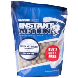 Nash - Boilie Instant Action Candy Nut Crush 20mm 1kg