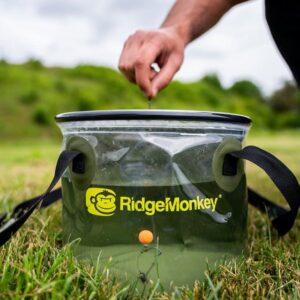 RidgeMonkey skládací vědro Perspestive Collapsible Bucket 10l(RM296)