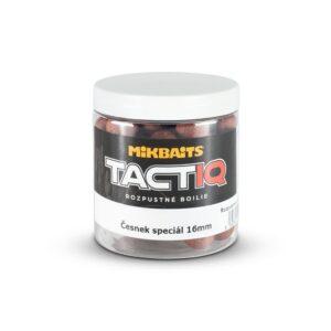 TactiQ rozpustné boilie 250ml - Česnek speciál