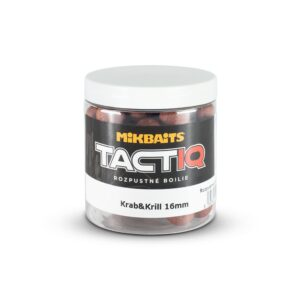 TactiQ rozpustné boilie 250ml - Krab&Krill