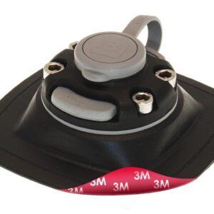 Fasten držáky - Rychloupínací držák 110x110mm s 3M lepící páskou