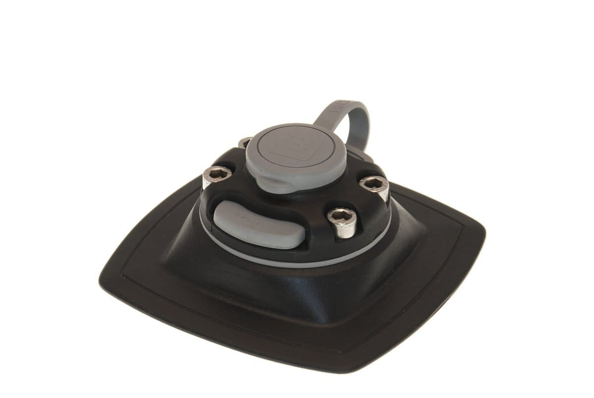 Fasten držáky - Rychloupínací držák 110x110mm pro nalepení na člun