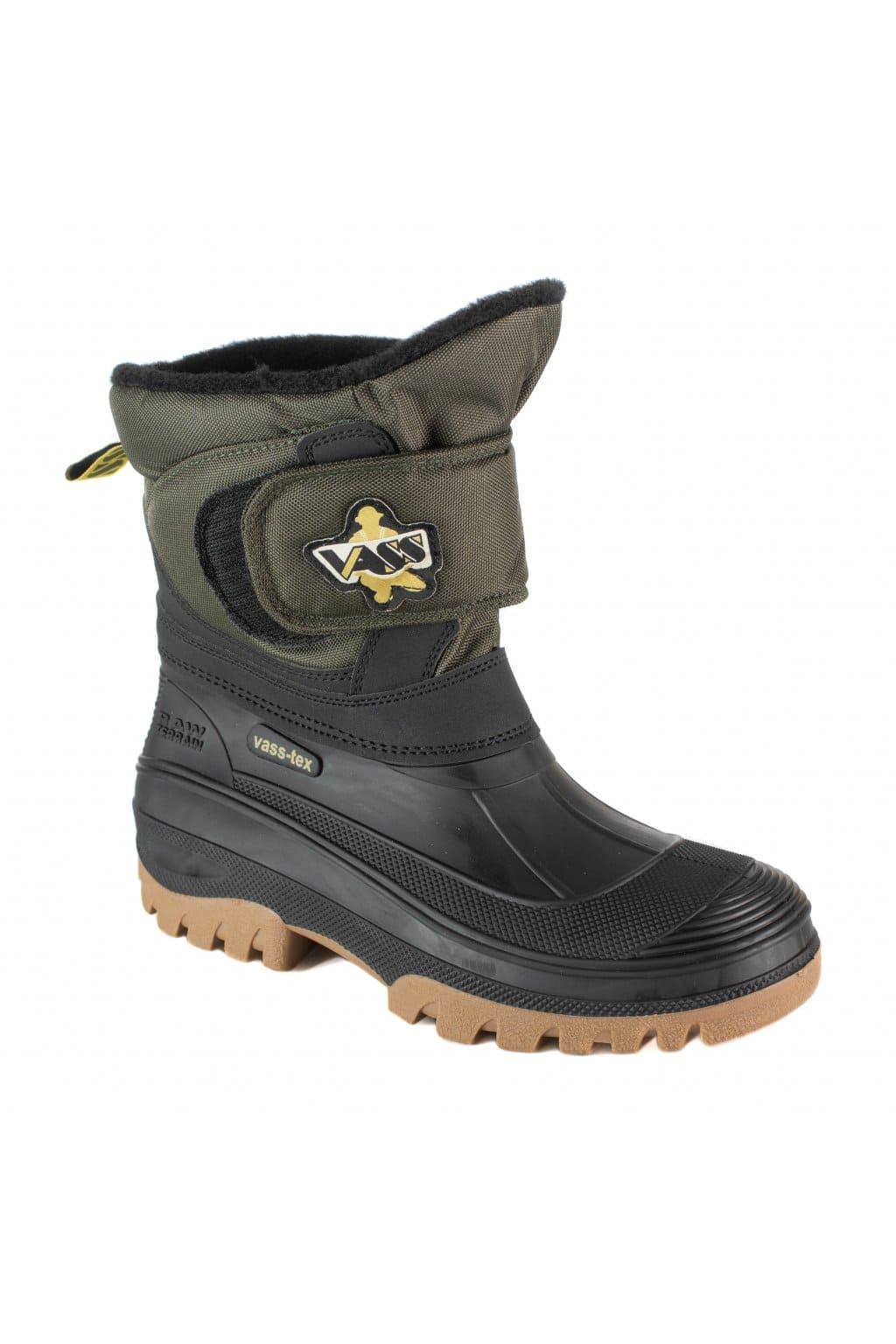 Vodotěsné zateplené boty VASS