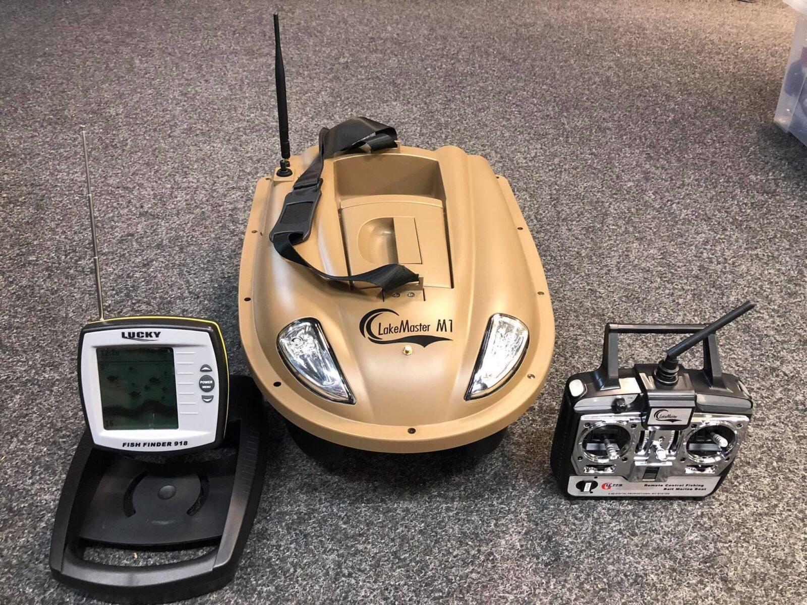 Zavážecí loďka Sports M1 se zabudovaným sonarem Fish Finder 918