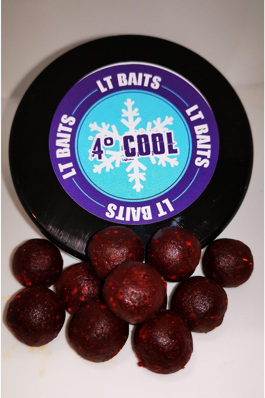 LT Baits Rozpustné Boilies 4°Cool 20mm - 200g