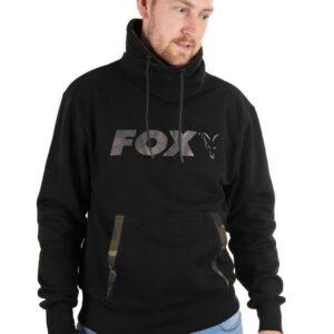 Fox Mikina Black Camo High Neck