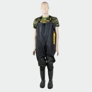 Mikbaits brodící kalhoty - Prsačky Mikbaits Premium Black