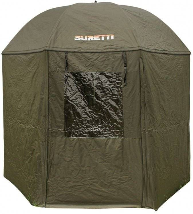 SURETTI - Deštník s bočnicí Full Cover - PVC