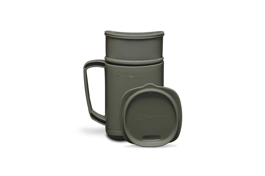 RidgeMonkey: Hrnek se sadou ThermoMug DLX Brew Set Green