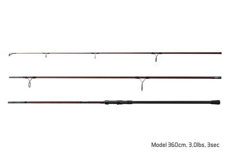 Delphin Rybářský prut ETNA E3 3 díl 3,9m 3,50lb
