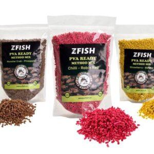 ZFISH PVA READY & METHOD FEEDER MIX 2-3MM/1KG