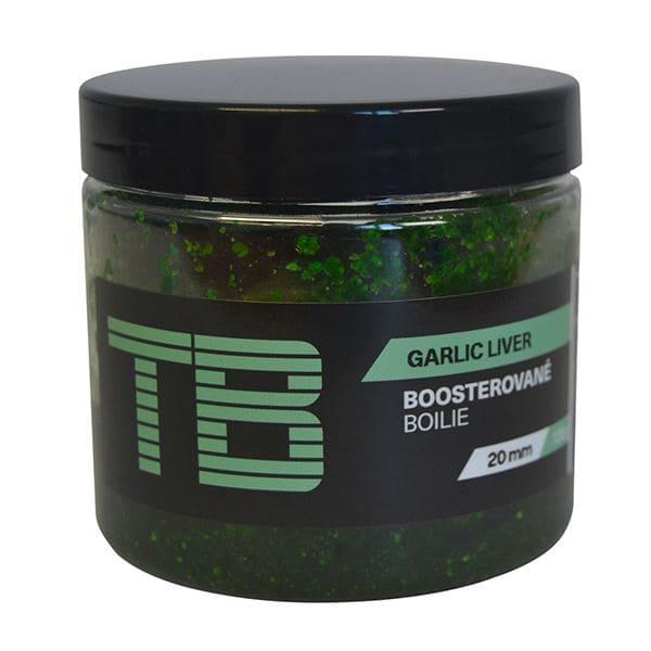TB Baits Boosterované Boilie Garlic Liver 120 g