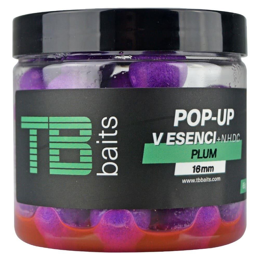 TB Baits Plovoucí Boilie Pop-Up Plum + NHDC 65 g